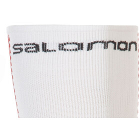 Salomon Speed Calf Sokken, white/matador